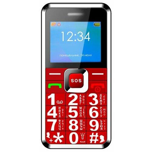 Телефон Ginzzu MB505 красный телефон