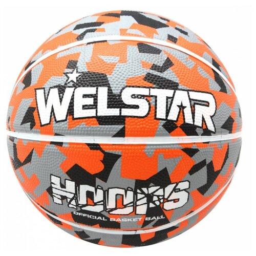 Баскетбольный мяч WELSTAR BR2843-1, р. 7 разноцветный