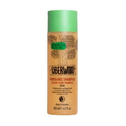 Uberwood Шампунь для блеска окрашенных волос 200 млШампуни<br>