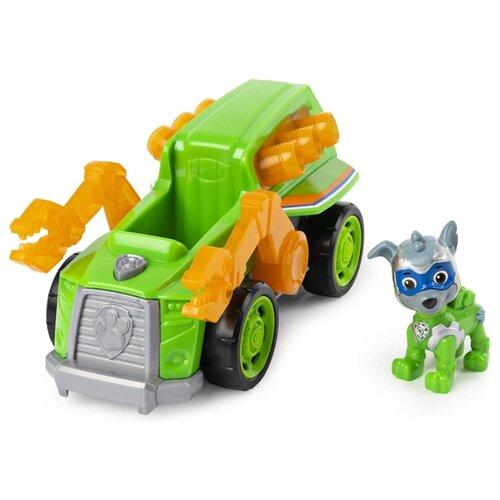 Купить Игровой набор Spin Master Paw Patrol Мега Машинка Рокки 6054652, Игровые наборы и фигурки