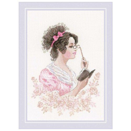 Риолис Набор для вышивания 1792 Книжный клуб риолис набор для вышивания 1775 розовые маки