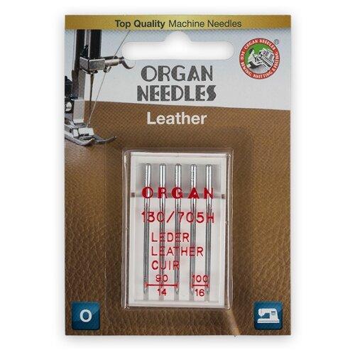 Игла/иглы Organ Leather серебристый игла иглы organ super stretch 75 серебристый