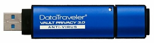 Флешка Kingston DataTraveler Vault Privacy 3.0 Anti-Virus
