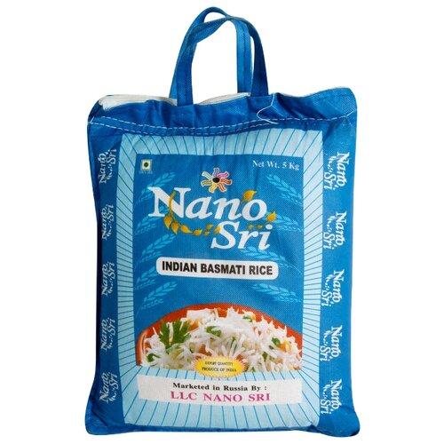 Рис Nano Sri Басмати нешлифованный, 5 кг