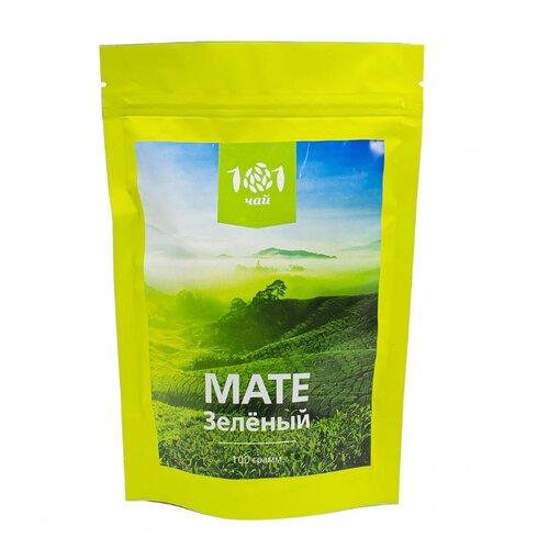 Чай травяной 101 чай Мате зеленый, 100 г чай мате зелёный 50 г
