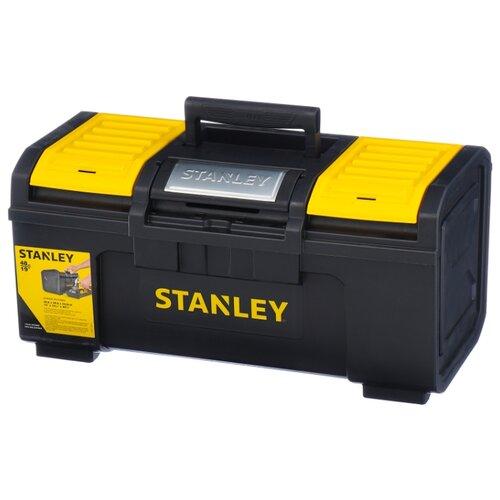 Ящик с органайзером STANLEY 1-79-217 Line Toolbox 48.6x26.6x23.6 см 19'' черный ящик с органайзером stanley jumbo 1 92 906 27 6x48 6x23 2 см черный желтый