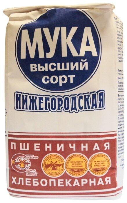 Мука Нижегородская пшеничная хлебопекарная высший сорт