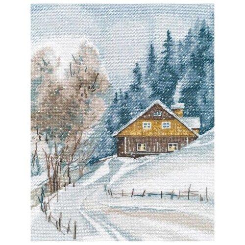 Купить Овен Набор для вышивания Зимняя тишина 20 х 26 см (1242), Наборы для вышивания