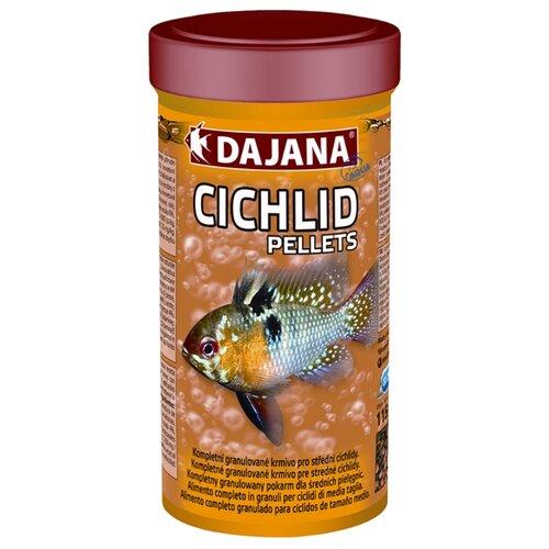 Сухой корм Dajana Pet Cichlid Pellets для рыб 250 мл 115 г