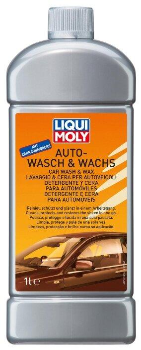 LIQUI MOLY автошампунь с воском Auto-Wasch & Wachs