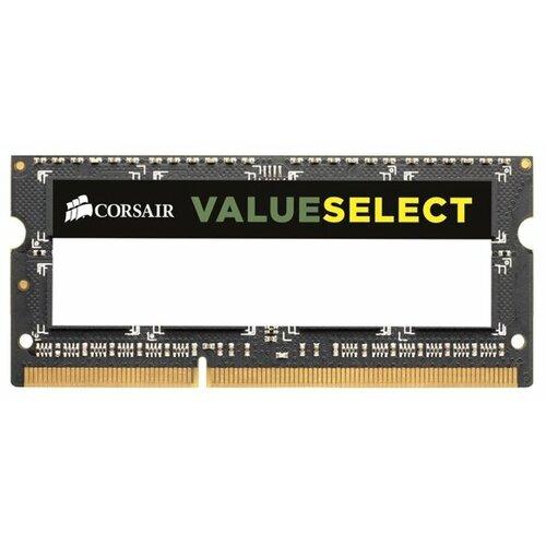 Купить Оперативная память Corsair DDR3 1600 (PC 12800) SODIMM 204 pin, 8 ГБ 1 шт. 1.5 В, CL 11, CMSO8GX3M1A1600C11