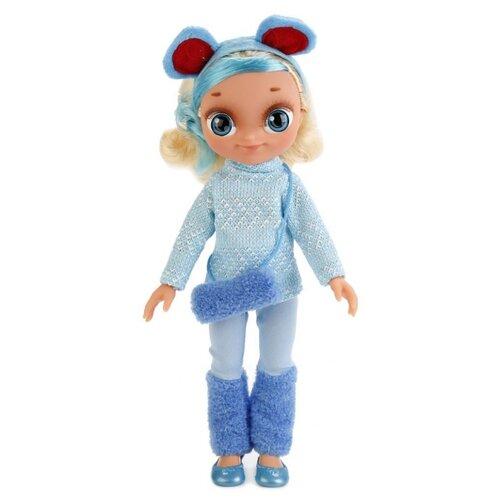 Интерактивная кукла Карапуз Сказочный патруль Снежка в зимней одежде, 33 см, SP0117-S-RU-W