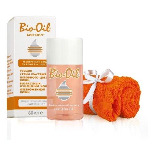Bio-Oil Масло от растяжек + полотенце 60 мл