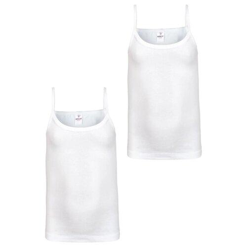 Купить Майка BAYKAR 2 шт., размер 122/128, белый, Белье и купальники
