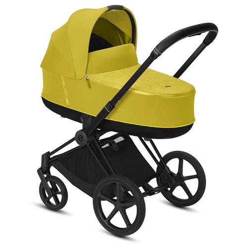 Купить Универсальная коляска Cybex Priam III (2 в 1) mustard yellow/matte black, цвет шасси: черный, Коляски