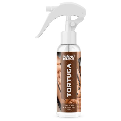 PLEX Очиститель-кондиционер кожи салона автомобиля Tortuga, 0.25 л plex очиститель многофункциональный для салона автомобиля effect spray 0 65 л