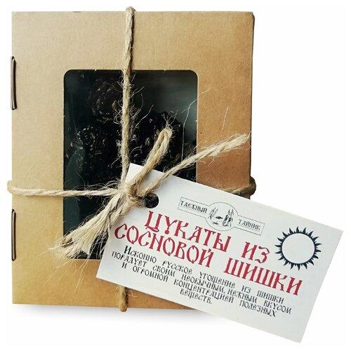 Цукаты Таёжный Тайник из сосновой шишки, 100 г фото