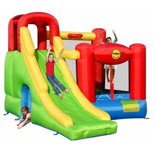 Надувной комплекс Happy Hop Игровой центр 6 в 1 9060 батут happy hop игровой центр 6 в 1 9060