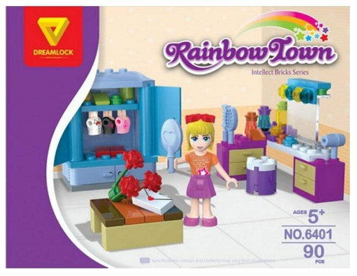Конструктор DREAMLOCK Rainbow Town 6401 Приглашение на вечеринку