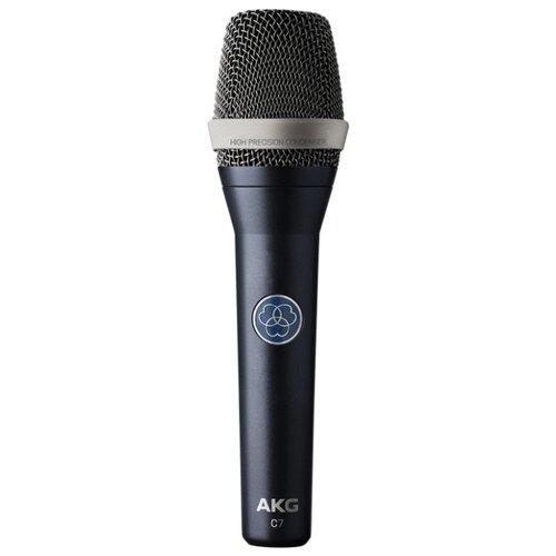 Микрофон AKG C7 matte grayish blue профессиональные студийные наушники akg k240 studio 2058x00130