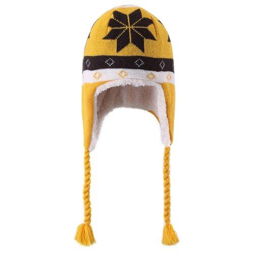 Шапка Reima размер 56, охра желтая шапка big doggy желтая
