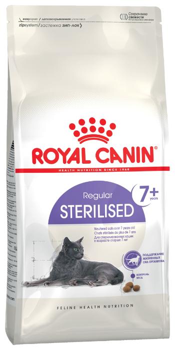 Корм для стерилизованных пожилых кошек Royal Canin 7+ для профилактики МКБ 3.5 кг