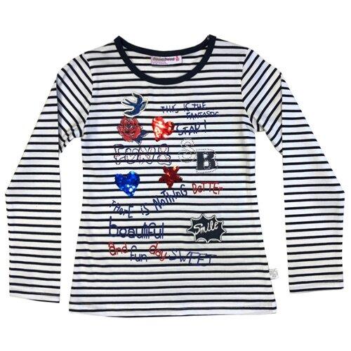 Лонгслив Sweet Berry размер 92, белый,синийФутболки и рубашки<br>