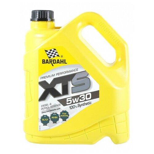 Синтетическое моторное масло Bardahl XTS 5W-30 Sl/Cf, 4 л по цене 2 540