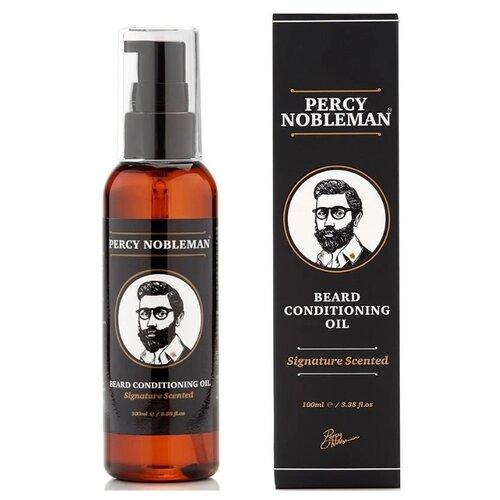 Percy Nobleman Signature Beard Oil Scented - Парфюмированное масло для бороды 100 мл недорого