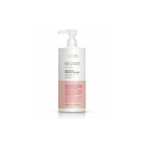 Купить RP RESTART COLOR PROTECTIVE MICELLAR SHAMPOO Шампунь мицеллярный для окрашенных волос, 1000 мл, Revlon Professional