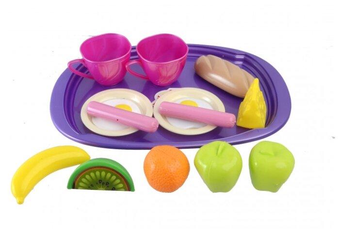 Набор продуктов с посудой Orion Toys Завтрак