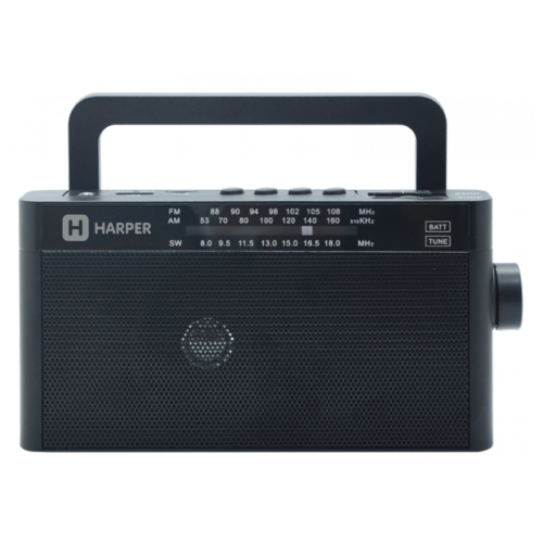 Радиоприемник HARPER HDRS-377 черный