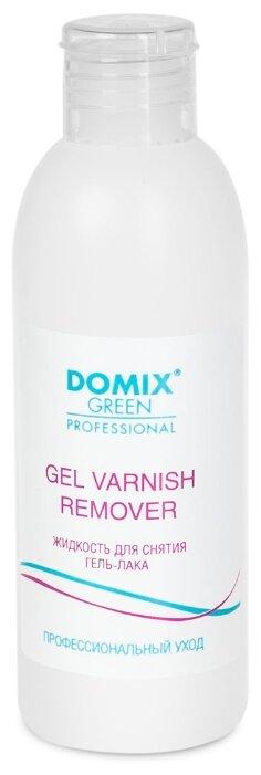 Купить Domix Green Professional Gel Varnish Remover Жидкость для снятия гель-лака (шеллака) 200 мл по низкой цене с доставкой из Яндекс.Маркета