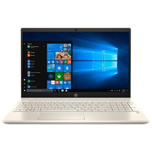 Ноутбук HP PAVILION 15-cs2019ur (Intel Core i3 8145U 2100 MHz/15.6/1920x1080/4GB/256GB SSD/DVD нет/Intel UHD Graphics 620/Wi-Fi/Bluetooth/Windows 10 Home) 6SQ16EA теплый золотистый 15 6 ноутбук hp pavilion 15 cs2019ur 6sq16ea золотистый