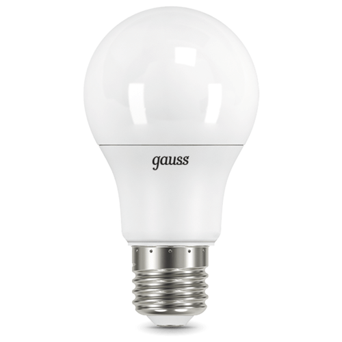 Лампа светодиодная gauss 102502210, E27, A60, 10Вт лампа светодиодная gauss 23219 e27 a60 20вт