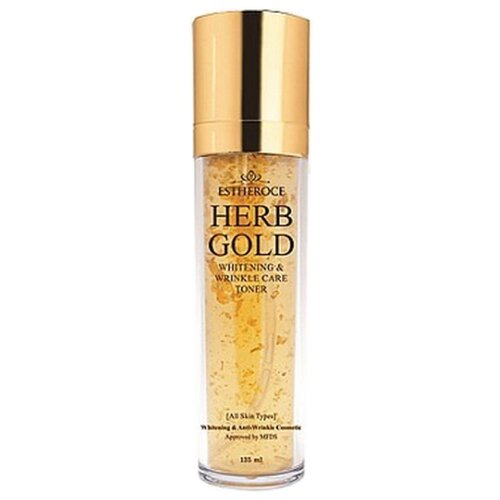 Deoproce Тонер Estheroce Herb Gold Whitening And Wrinkle Care 135 мл недорого