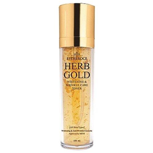 Купить Deoproce Тонер Estheroce Herb Gold Whitening And Wrinkle Care 135 мл