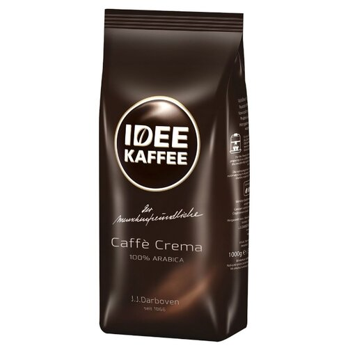 Кофе в зернах Darboven Idee Caffe Crema, арабика, 1 кг кофе в зернах caffe carraro crema italiano 1 кг