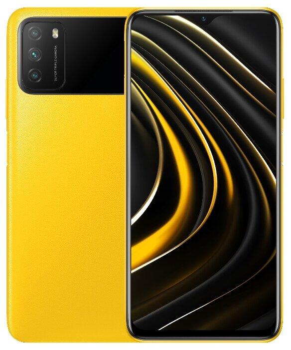 Смартфон Xiaomi Poco M3 4/128GB желтый - Характеристики - Яндекс.Маркет