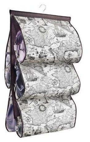Valiant Кофр подвесной для хранения сумок Expedition EX-P5 черный/белый