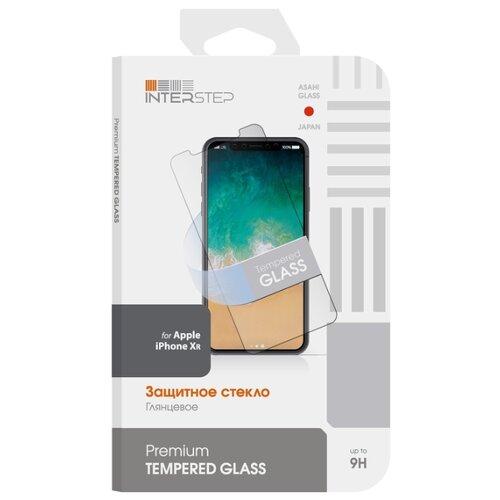 Защитное стекло INTERSTEP для Apple iPhone XR прозрачный стекло защитное rockmax iphone xr 3d черная рамка
