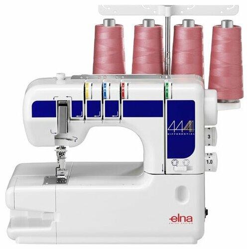 Распошивальная машина Elna 444 бело-фиолетовый швейная машина elna excellence 680