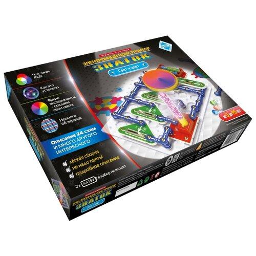 Электронный конструктор Знаток 70799 Свет и Цвет, Конструкторы  - купить со скидкой