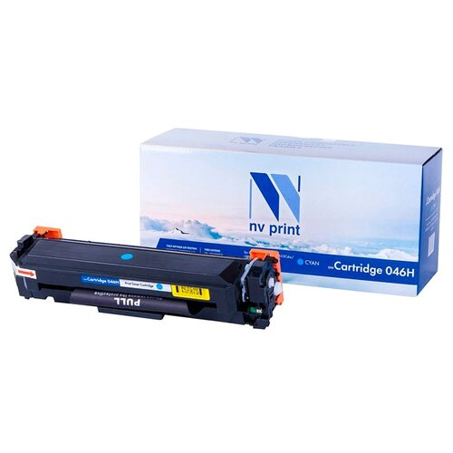 Фото - Картридж NV Print 046H Cyan для Canon, совместимый картридж nv print nv 054hm для canon совместимый