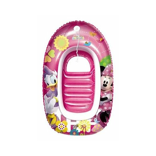 Купить Лодка надувная Bestway Минни и Дэйзи 91025 BW розовый, Надувные игрушки