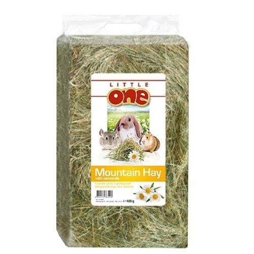 Сено Little One Горное с ромашкой 0.4 кгСено, наполнители для птиц и грызунов<br>
