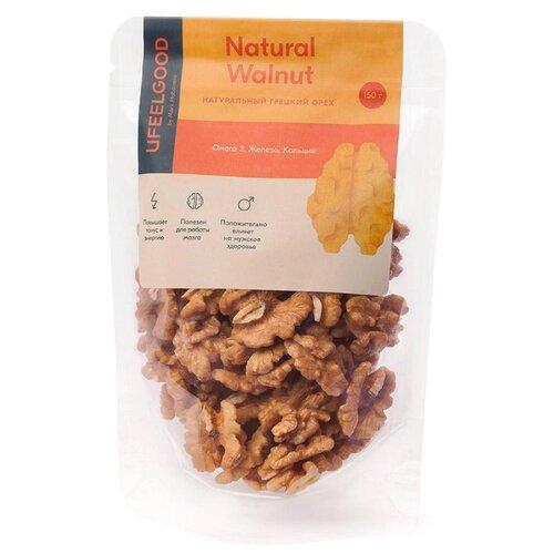 Грецкий орех UFEELGOOD натуральный пластиковый пакет 150 г грецкий орех просто азбука натуральный 150 г