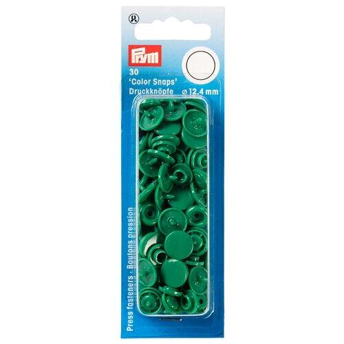 Купить Prym Кнопки непришивные Color Snaps 393151, трава, 12.4 мм, 30 шт.