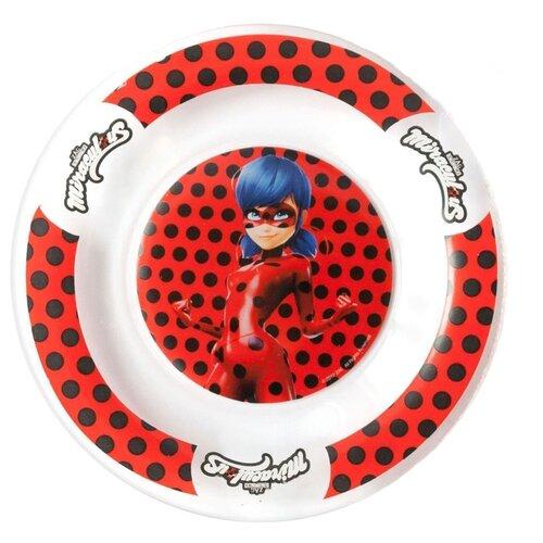 Фото - Набор для завтрака ND Play Леди Баг и Супер Кот. Дизайн 1 красный/белый набор кукол bandai леди баг и супер кот