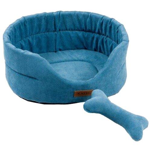 Лежак для собак и кошек Katsu Yohanka Sun 1 40х35х16 см лазурный